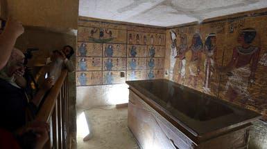 مصر: وجود غرفتين مخفيتين بقبر توت عنخ آمون بنسبة 90%