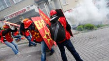 Police fire tear gas to block May Day protesters in Istanbul