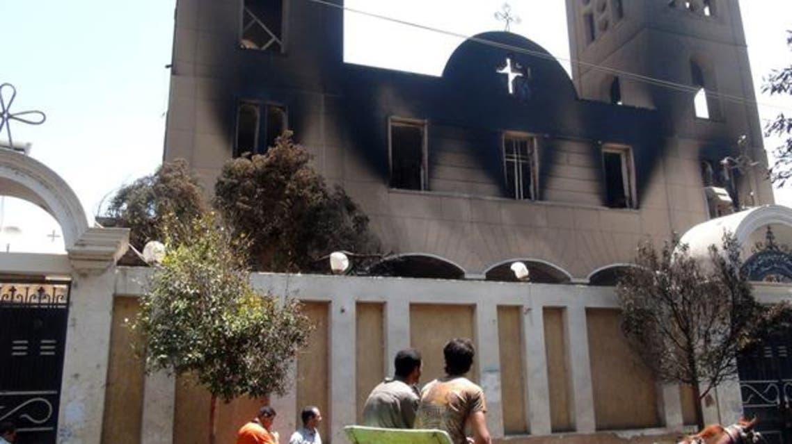 هجمات على كنائس وممتلكات قبطية في محافظة المنيا
