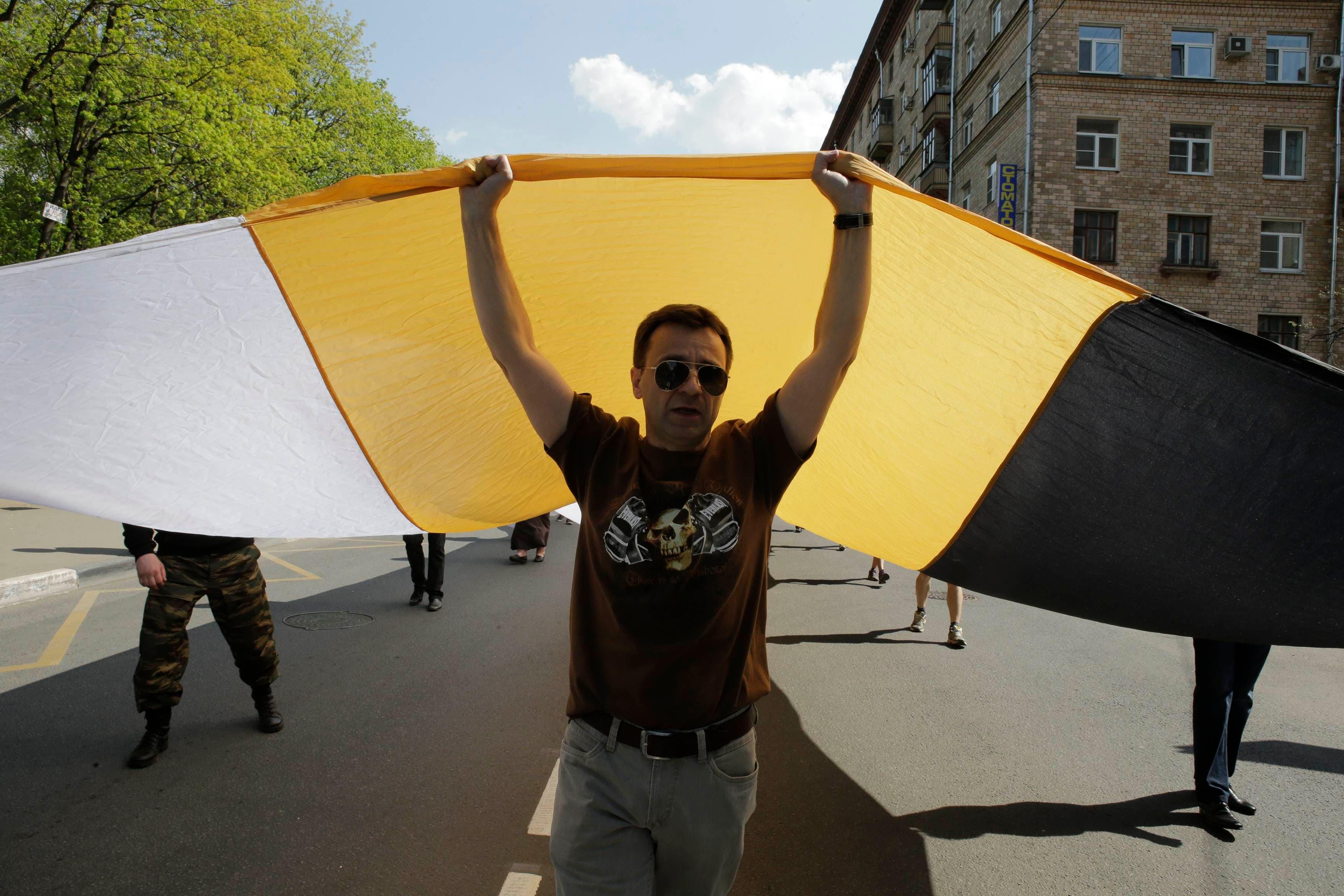 مظاهرات في روسيا بسبب عيد العمال