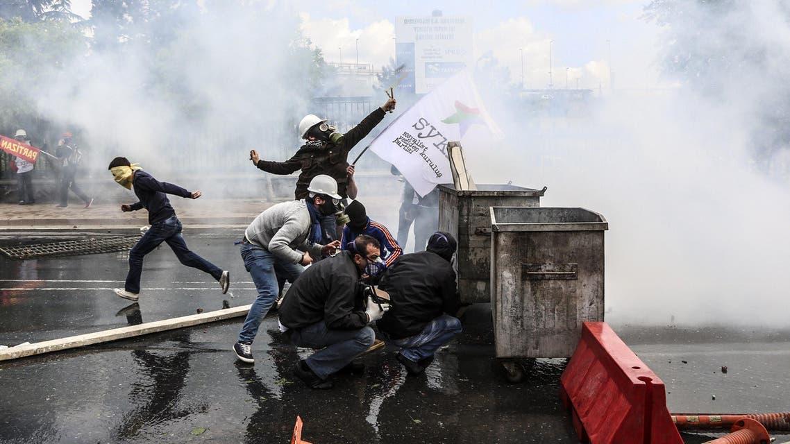 Turkish May Day rally