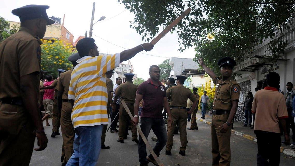 sri lanka police reuters