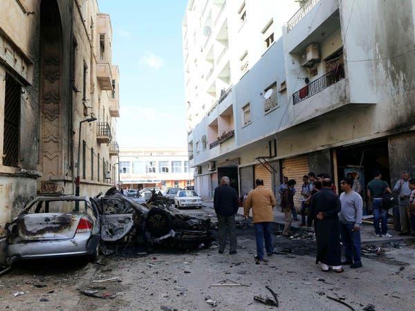 قتلى وجرحى بتفجير سيارة مفخخة في بنغازي الليبية