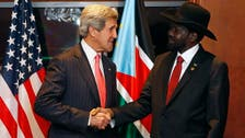 South Sudan president agrees to meet rebel leader, Kerry says