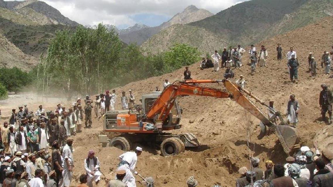 البحث عن مفقودين في أفغانستان