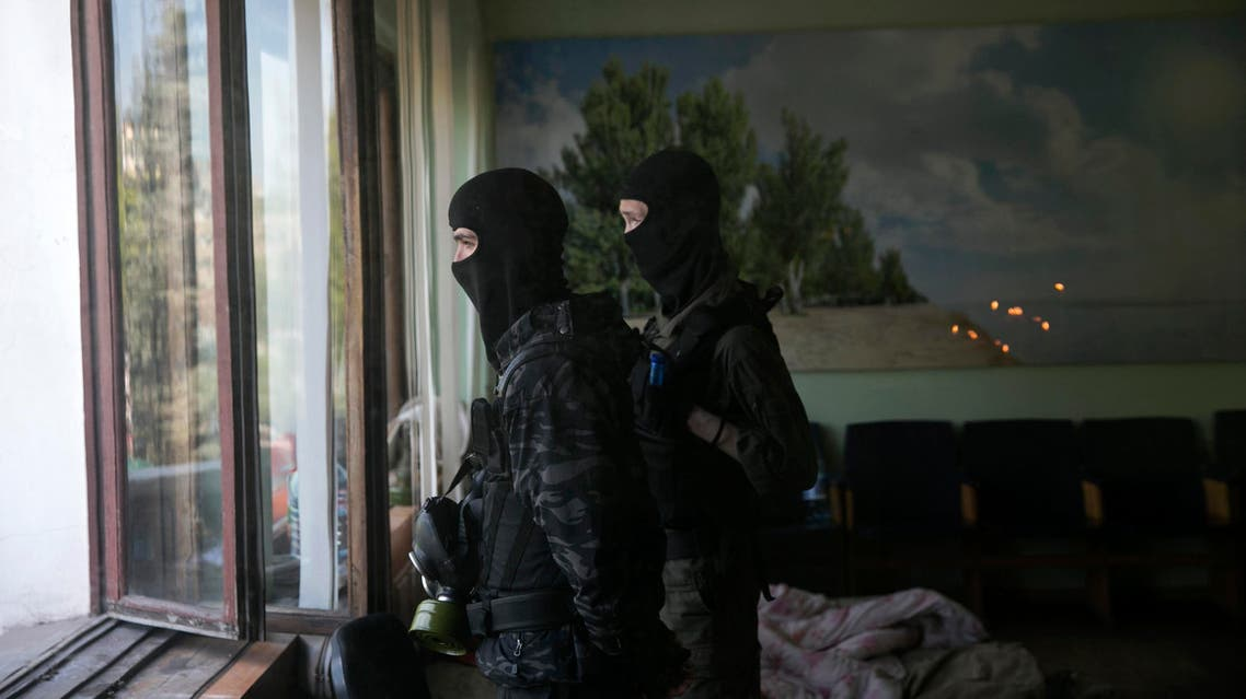 pro-russia in ukraine reuters