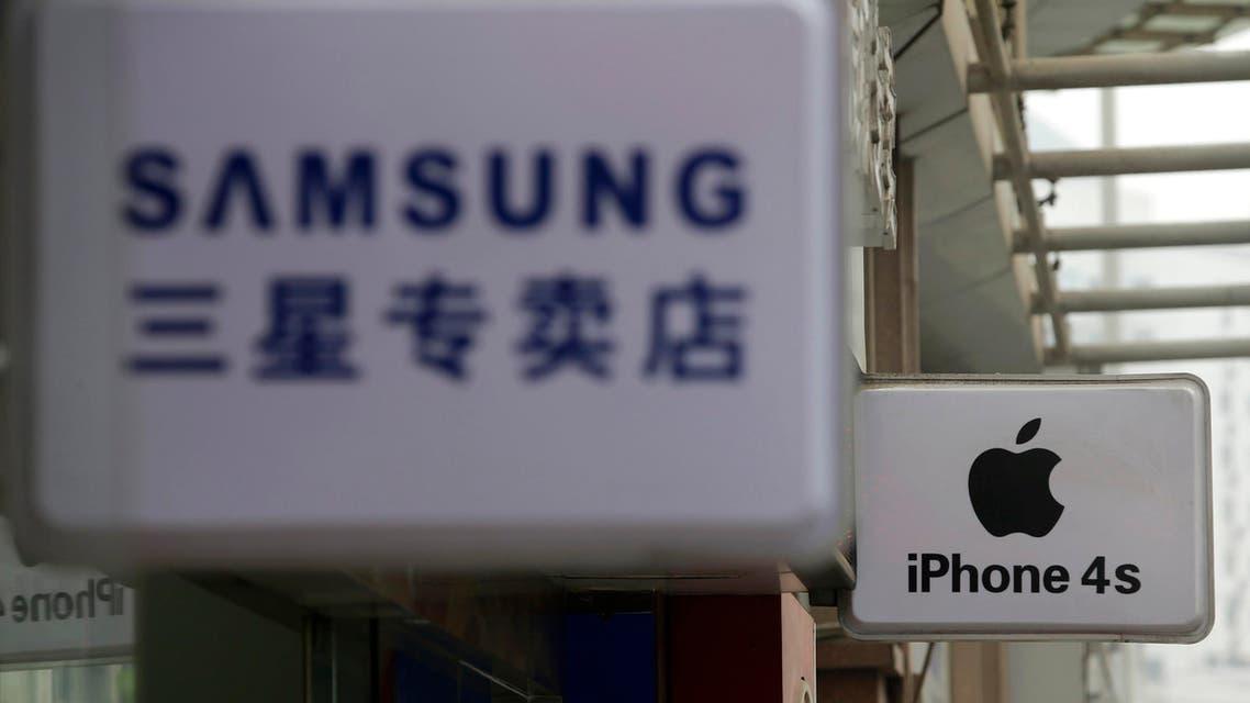 apple samsuing china reuters
