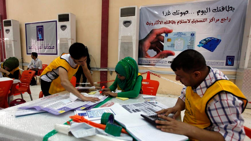 Iraq electoral commission says it received 854 violation complaints
