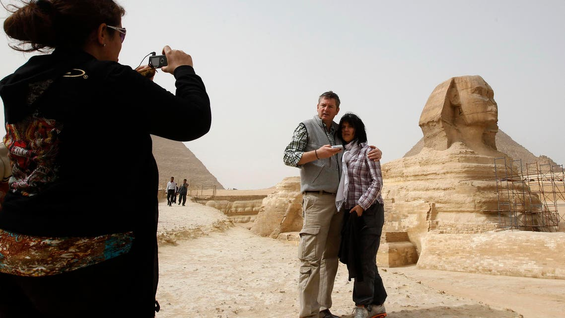 egypt tourism reuters