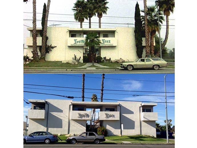 أماكن تصوير أشهر أفلام هوليوود قبل وبعد