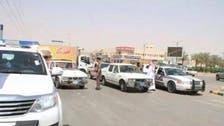 شرطة عيون الجواء تضبط 56 مخالفة أمنية
