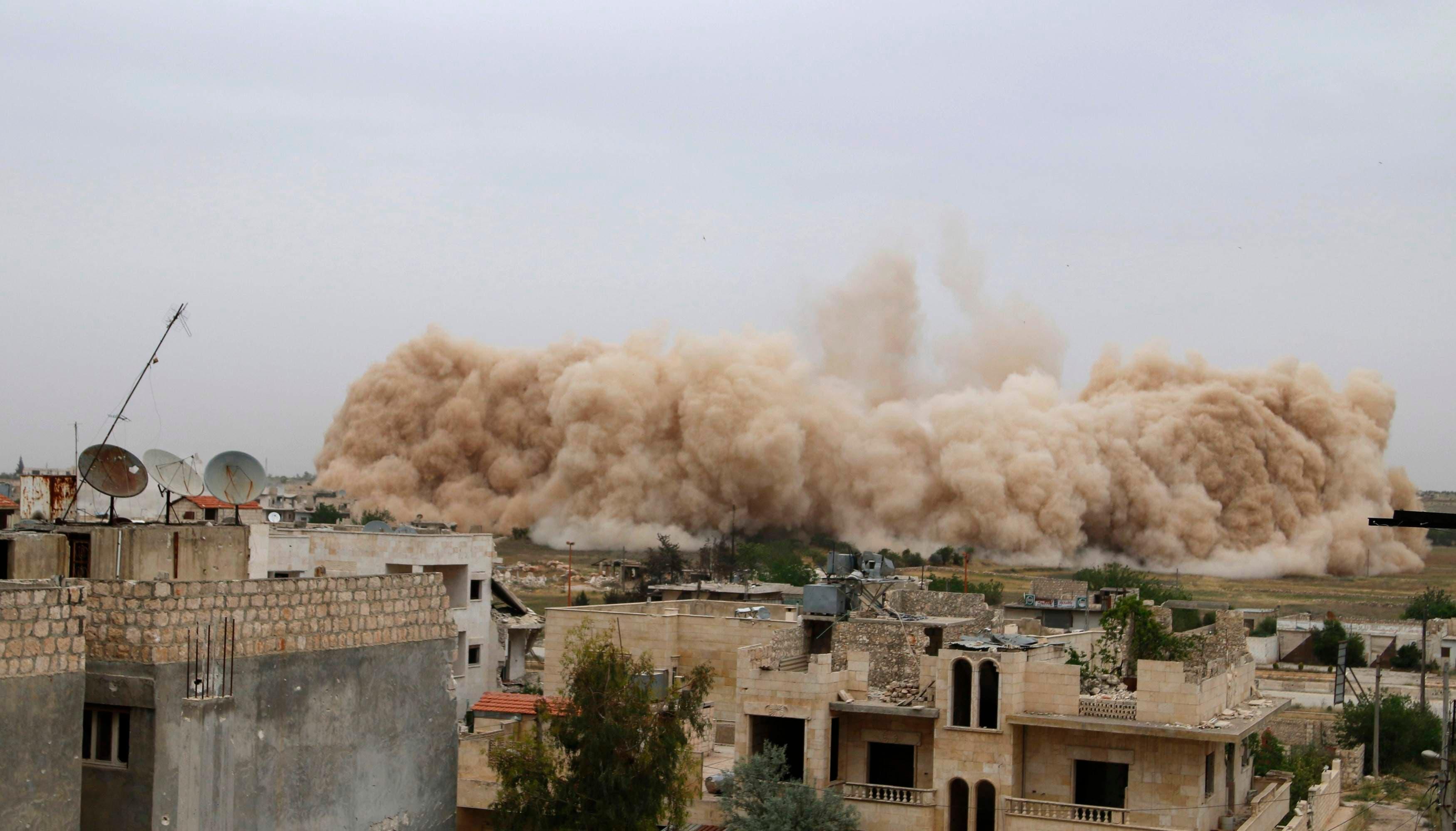 الجيش الحر يدمر أكبر معاقل النظام في إدلب