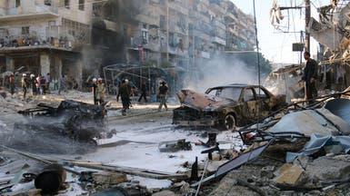"""بالطريق نحو حلب.. """"مسافة أمان"""" تقي من طائرات الأسد"""