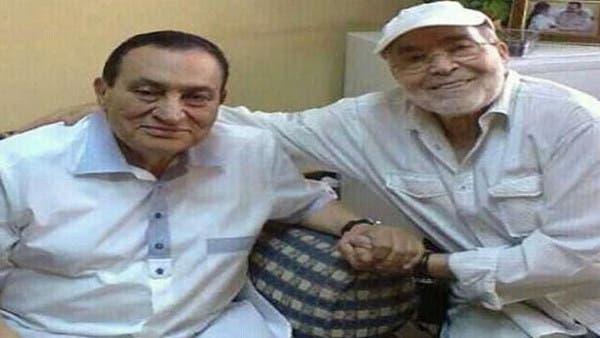 نتيجة بحث الصور عن حسن يوسف وحسنى مبارك