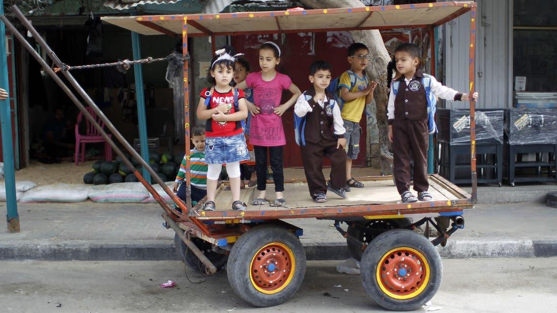 Nakba rally in Gaza