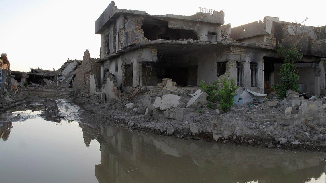 العراق غارة تفجير
