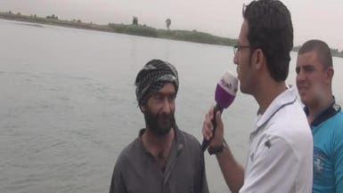 """فيديو.. أحد الناجين من مذبحة """"داعش"""" يروي التفاصيل"""