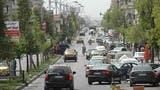 منطقة يسيطر عليها النظام في حمص في سوريا