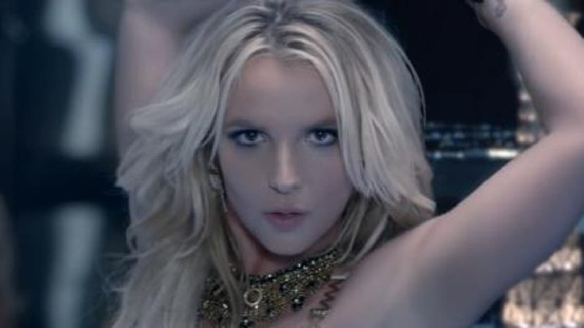 Britney Spears Screen Grab