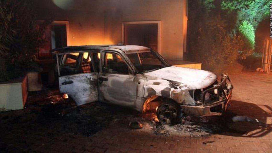 الاعتداء على القنصلية الأميركية في بنغازي