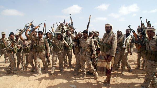 عناصر من الجيش اليمني في شبوة