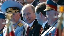 Putin praises Russia's 'all-conquering patriotic force'