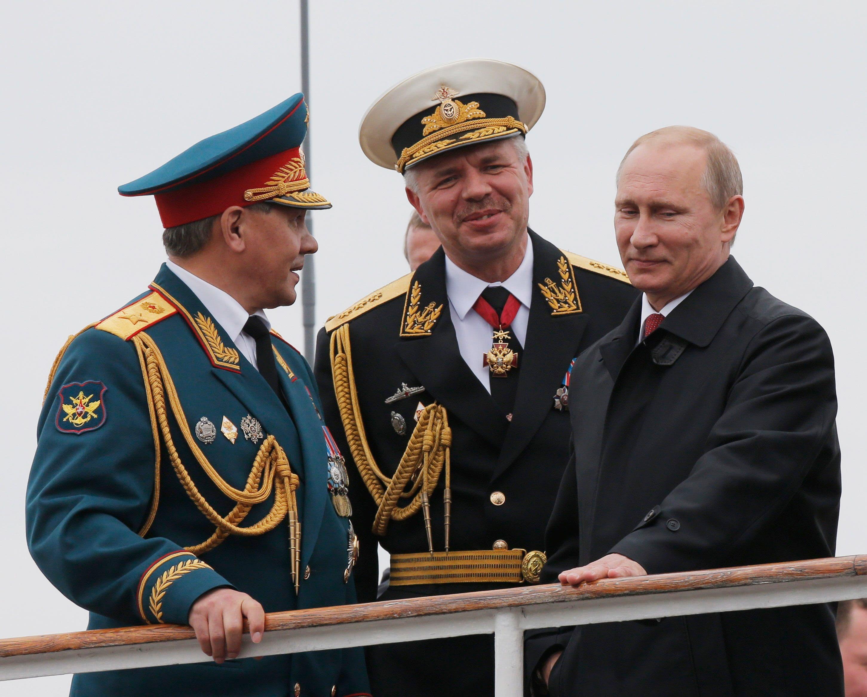 الرئيس الروسي في القرم