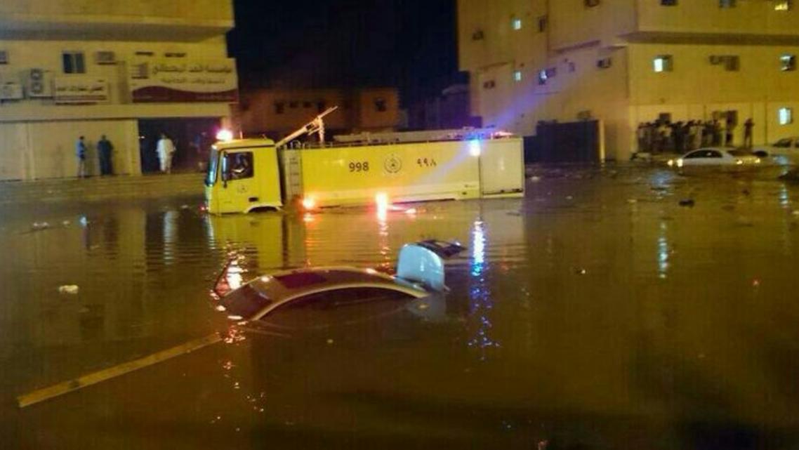 أمطار مكة