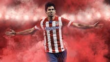 Why did an Iranian newspaper edit out Atletico's sponsor logo?