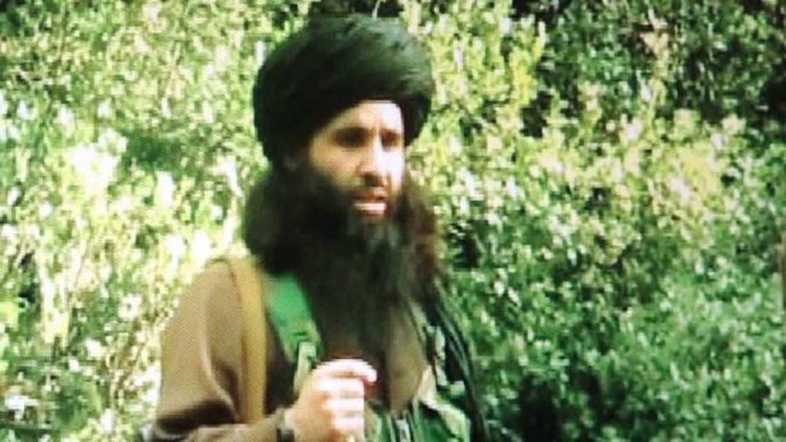 A still from a video showing Pakistani Taliban Maulana Fazlullah in Peshawar. (AFP)