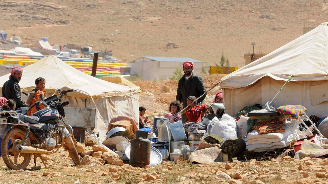 syria refugees lebanon reuters