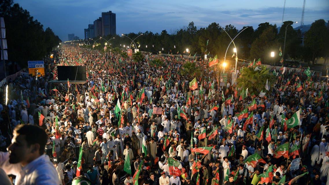مظاهرات باكستانية عارمة ضد الحكومة