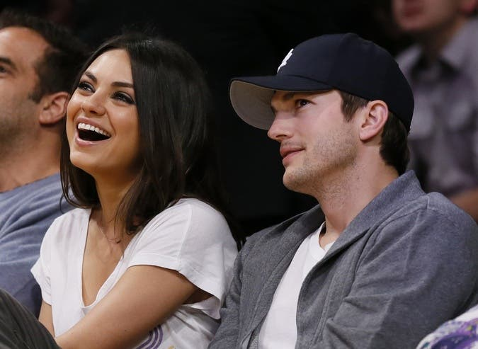 Recently Hollywood couple Ashton Kutcher and Mila Kunis announced they are not planning on leaving any cash for their kids in their respective wills, according to celebrity website The Fashion Ball.. (File photo)