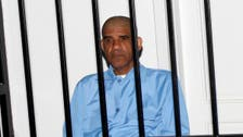 Libya ex-spy boss in court with lawyers for first time