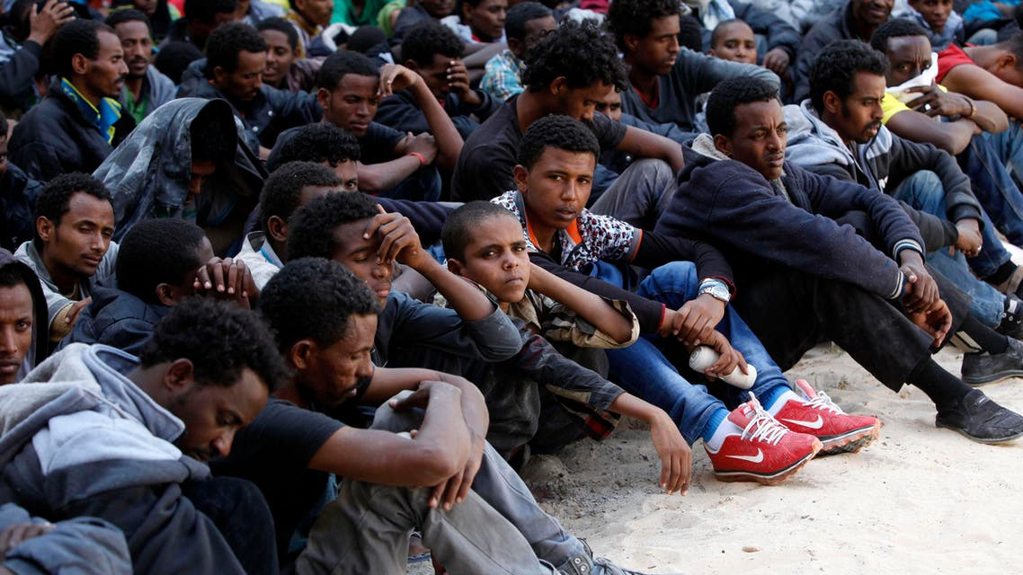 Failed flight: illegal African immigrants rounded up
