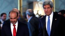 Syria's Jarba calls for strategic ties with U.S.