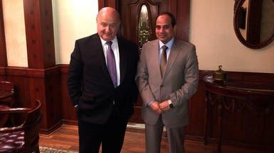 السيسي يبحث مستقبل الاقتصاد المصري مع خبير عالمي