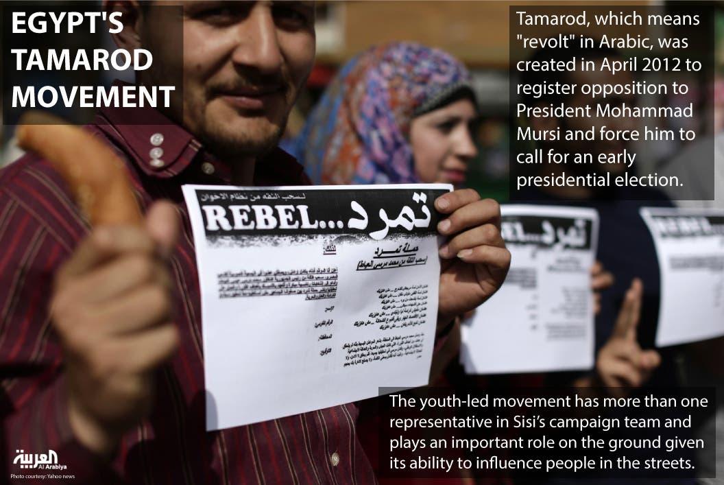 Infographic: Egypt's Tamarod movement