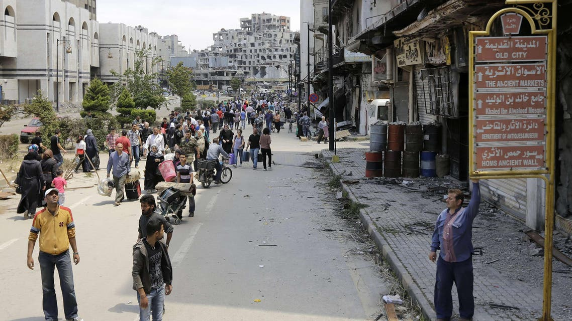 Syrians return home to Homs