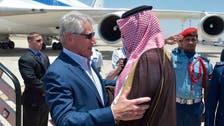 Pentagon chief arrives in Saudi Arabia