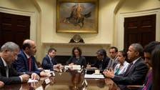 شامی اپوزیشن لیڈر الجربا کی امریکی صدر سے ملاقات