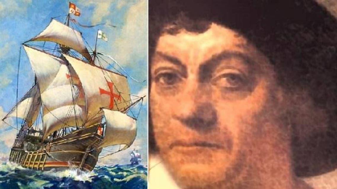 """كولومبوس و""""سانتا ماريا"""" التي كانت الأهم بين 3 سفن اكتشف بها أميركا"""