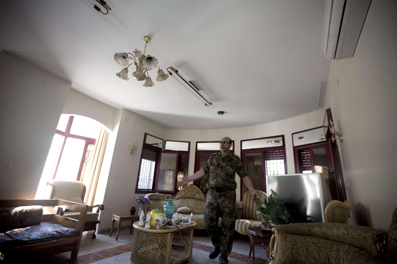 منزل محمود عباس في غزة