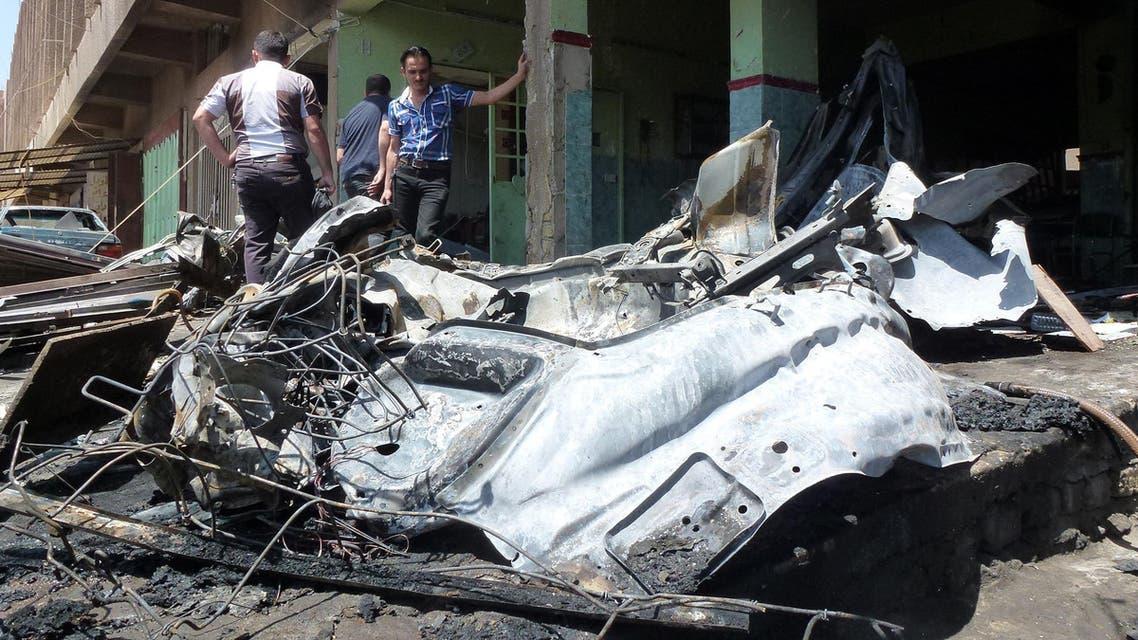 Baghdad car bomb afp