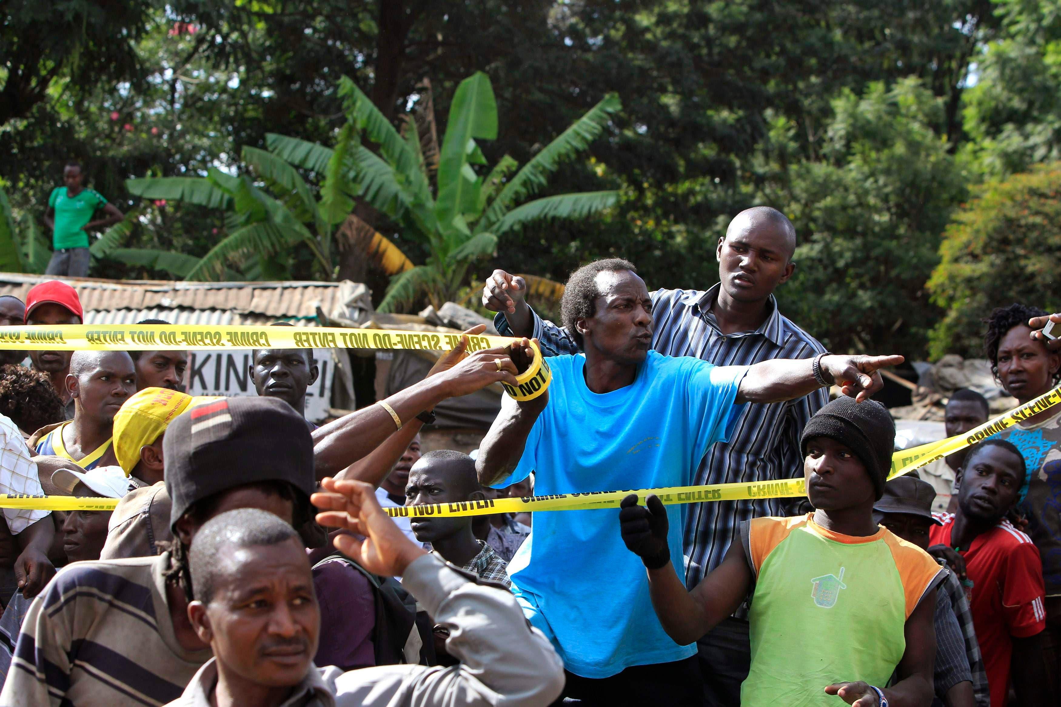 انفجار في نيروبي في كينيا