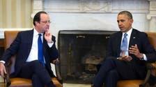 أوباما وهولاند: موسكو ستدفع أثماناً إضافية بأوكرانيا