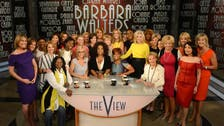 Barbara Walters exits 'The View' in star-studded farewell