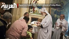Egyptian Coptic Christians attend a Friday Mass