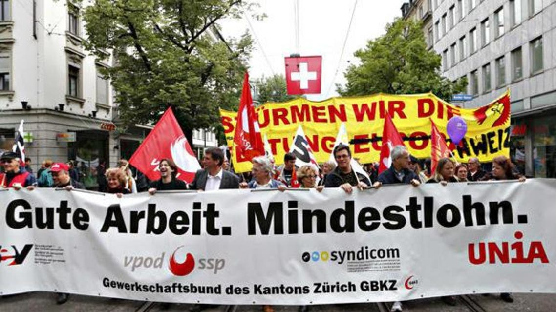 سويسرا: رفض حد أدنى للأجور هو الأعلى بالعالم