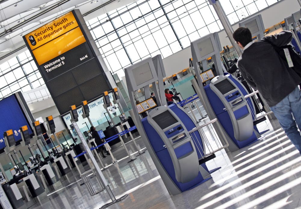 London's Heathrow Airport. (File photo: Shutterstock)